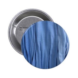 Blue Fabric button