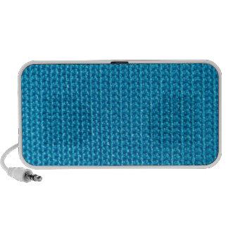 Blue Fabric Portable Speaker