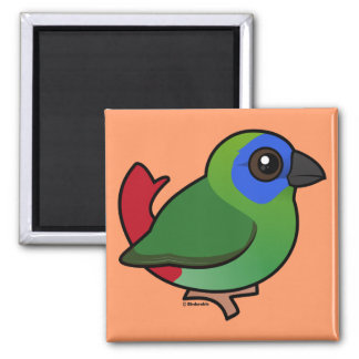 Blue-faced Parrotfinch Magnet