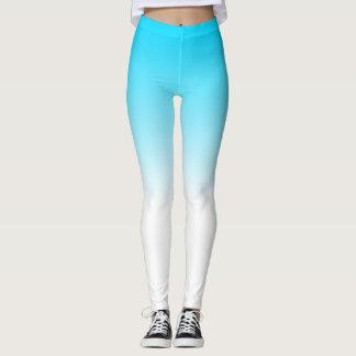 Blue Fade leggings