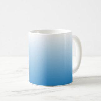 Blue Faded Coffee Mug