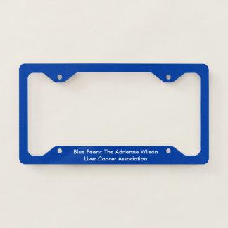 Blue Faery's Very Blue license plate frame