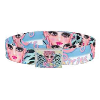 BLUE FAIRIE CUTE Cartoon Belt