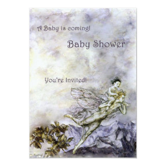 Fairy Baby Shower Invitations Announcements Zazzlecomau