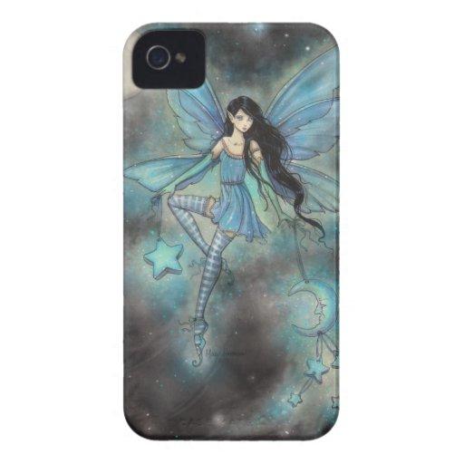 Blue Fairy Fantasy Art Blackberry Case