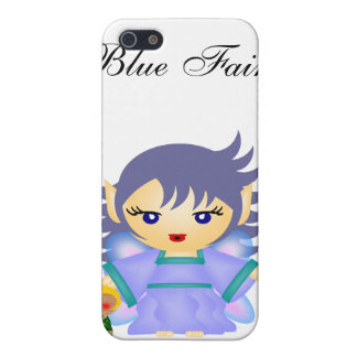 Blue Fairy iPhone 5/5S Cover