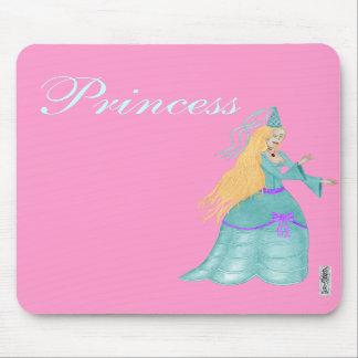 Blue Fairytale Princess Mousemat Mouse Pads