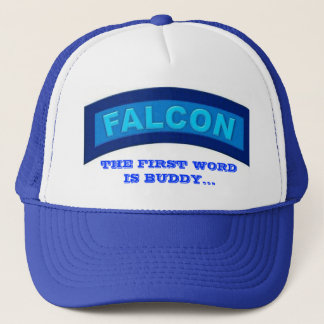 BLUE FALCON HAT