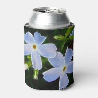 Blue fantasy flowers spring can clooler