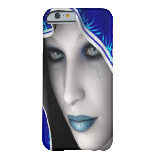 Blue Fantasy Girl Barely There iPhone 6 Case
