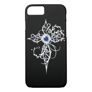 Blue Fantasy Light Cross iPhone 8/7 Case
