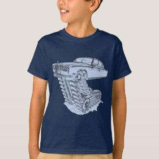 Blue Fantasy Rolls Royce T-Shirt