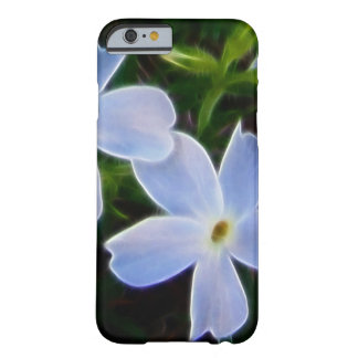 Blue fantasy spring flower iphone 6 case barely there iPhone 6 case