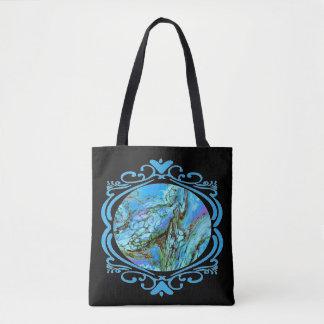 Blue Fantasy Tote Two