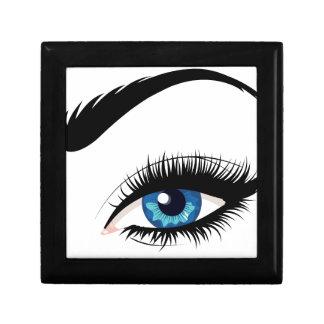 Blue Female Eye Gift Box