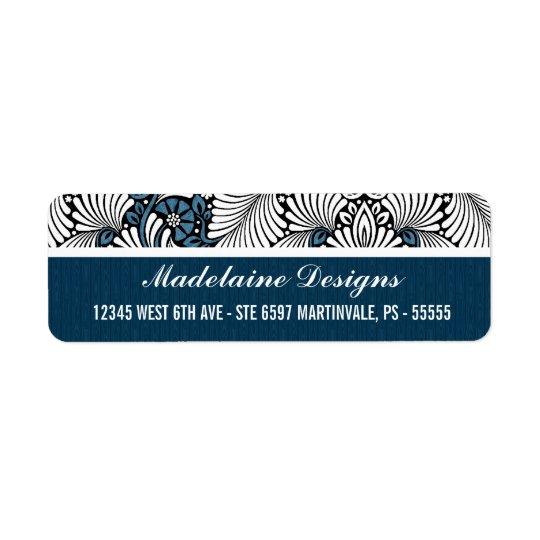Blue Fern Executive Address Labels