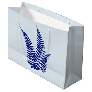 Blue Fern Gift Bag