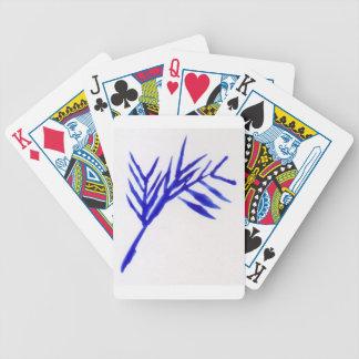 Blue Fern Poker Deck