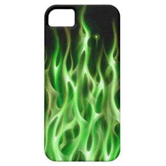 Blue Fire Flame design airbrush car custom cool ho iPhone 5 Cases