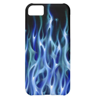 Blue Fire Flame design airbrush car custom cool ho iPhone 5C Case