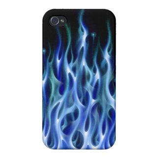 blue fire phone case iPhone 4/4S case