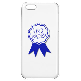 Blue First Place Ribbon iPhone 5C Case