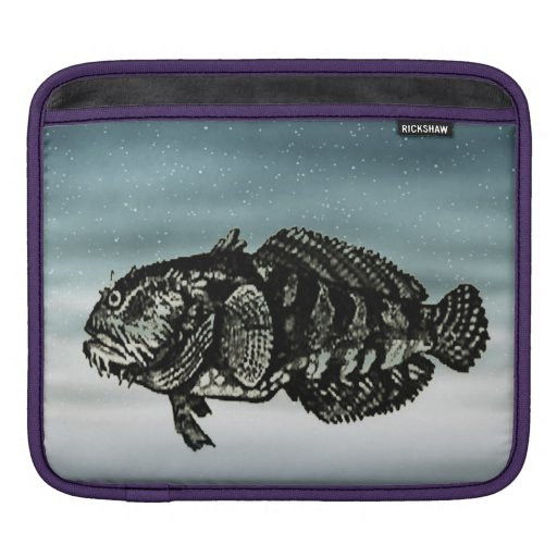 Blue Fish Sleeve For iPads