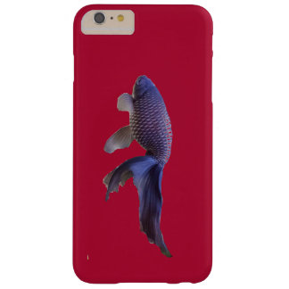blue fish on pink barely there iPhone 6 plus case