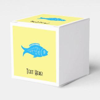 Blue Fish Party Favour Box