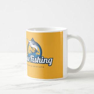 Blue Fishing Mug