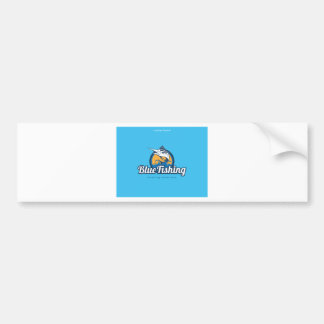Blue Fishing Products Bumper Sticker
