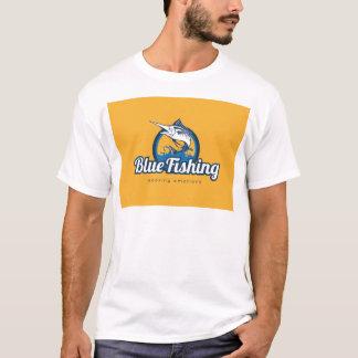 Blue Fishing T-Shirt