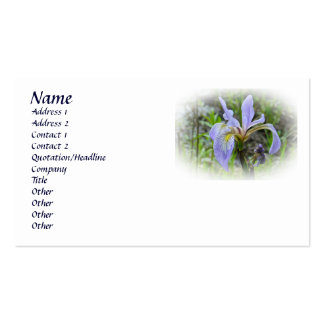 Blue Flag - Wild Iris Pack Of Standard Business Cards