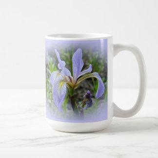 Blue Flag - Wild Iris Basic White Mug