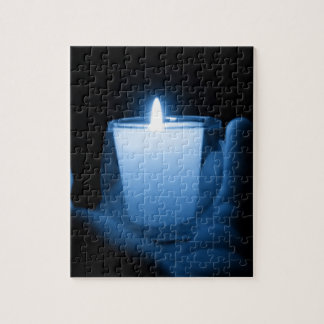 Blue Flame Jigsaw Puzzle