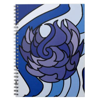 Blue Flame Notebook
