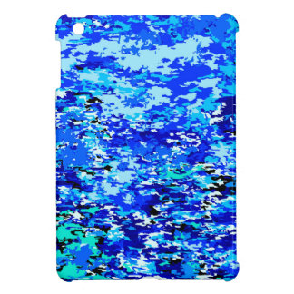 Blue Flames Background Case For The iPad Mini