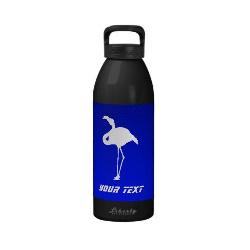 Blue Flamingo Water Bottle
