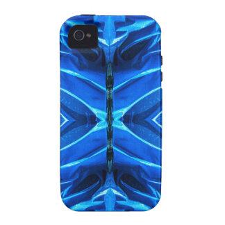 Blue Flare Fins iPhone 4 Case