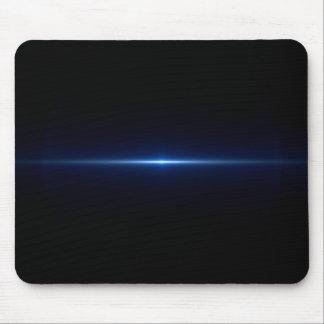 Blue Flare TV Glow Mousepad
