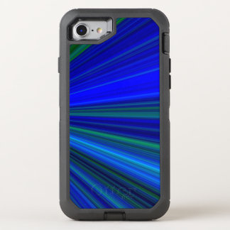 Blue Flash OtterBox Defender iPhone 8/7 Case
