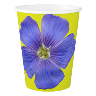 Blue Flax #1 Paper Cup