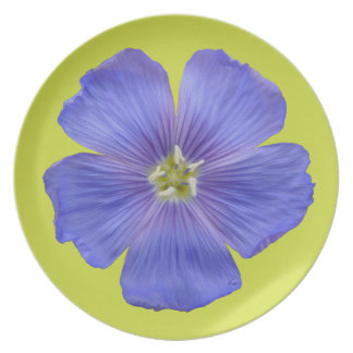Blue Flax #1 Party Plate