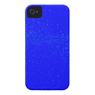 Blue Fleck Background Case-Mate iPhone 4 Case