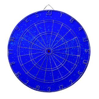 Blue Fleck Background Dartboard