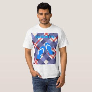 Blue Flip Flop Summer T-Shirt