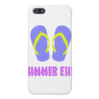 Blue Flip Flops iPhone 5 Cover