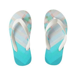 Blue flip flops thongs