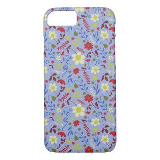 Blue Floral Case