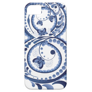Blue Floral Eight3 iPhone 5 Case
